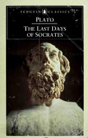 Buchdeckel Plato: The Last Days of Socrates - The Apology, Crito, Phaedo