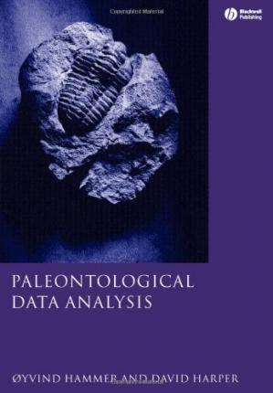 ปกหนังสือ Paleontological Data Analysis