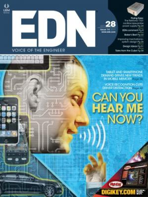 Couverture du livre EDN Magazine July 28, 2011   issue 14/2011