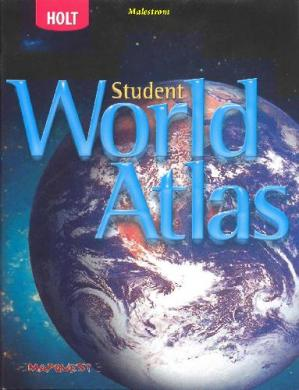 Sampul buku Student World Atlas