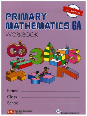 书籍封面 Singapore Math 6A Workbook