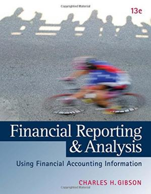 Book cover Financial Reporting and Analysis: Using Financial Accounting Information