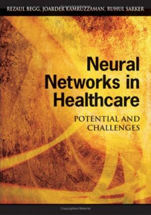 Գրքի կազմ Neural Networks in Healthcare: Potential And Challenges