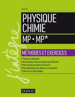 Okładka książki Physique Chimie Methodes et exercices (MP MP)