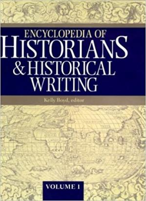 पुस्तक कवर Encyclopedia of Historians and Historical Writing