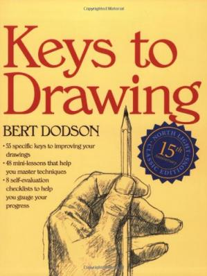 Book cover Keys to drawing