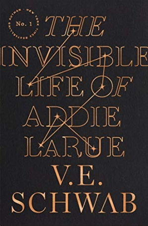 पुस्तक कवर The Invisible Life of Addie LaRue