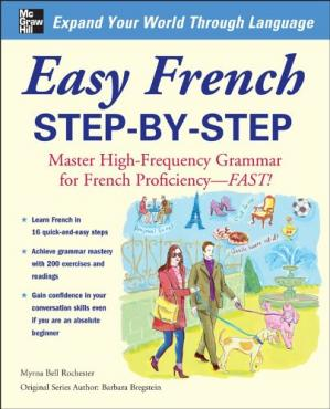 Book cover Easy French Step-by-Step