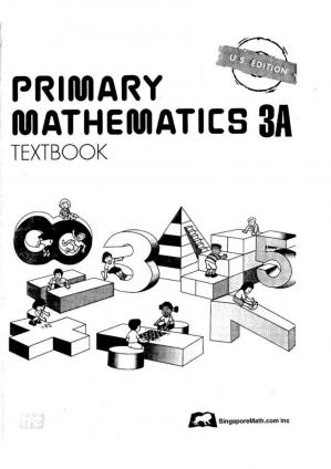 Book cover Singapore Math 3A - Textbook_page_0001