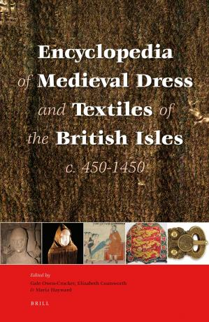 Couverture du livre Encyclopedia of Dress and Textiles in the British Isles c. 450-1450