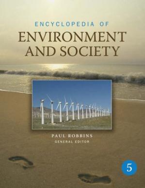 Book cover Encyclopedia of Environment and Society (5 Volume Set)