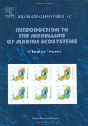 पुस्तक कवर Introduction to the modelling of marine ecosystems
