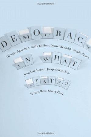 Buchdeckel Democracy in What State? (New Directions in Critical Theory)