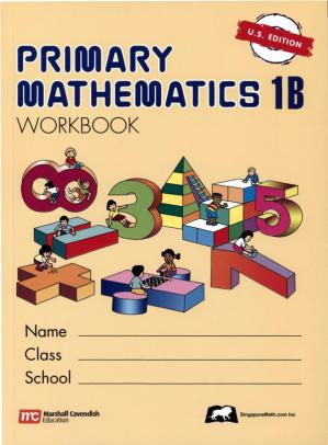 Portada del libro Singapore Primary Mathematics 1B Workbook