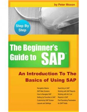 Обкладинка книги Beginner's Guide to SAP: An Introduction To The Basics of Using SAP