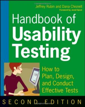 Portada del libro Handbook of Usability Testing: Howto Plan, Design, and Conduct Effective Tests