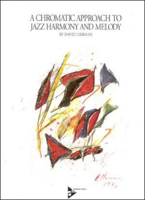A capa do livro A chromatic approach to jazz harmony and melody