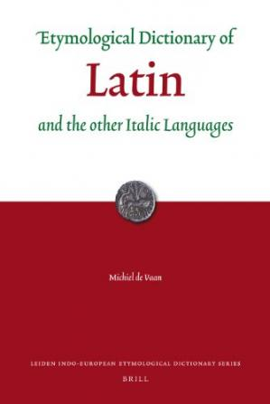 Book cover Etymological dictionary of Latin and the other Italic languages
