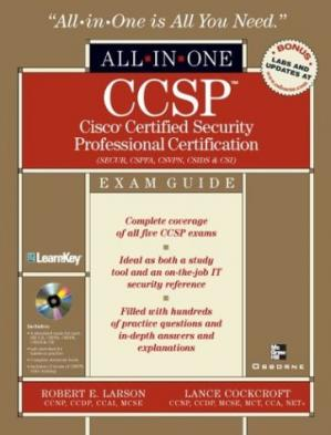 Buchdeckel CCSP Cisco Certified Security Professional Certification All-in-One Exam Guide