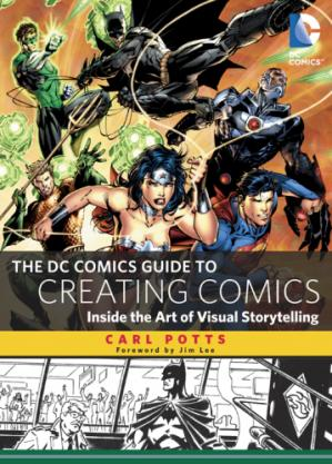 Book cover The DC Comics Guide to Creating Comics