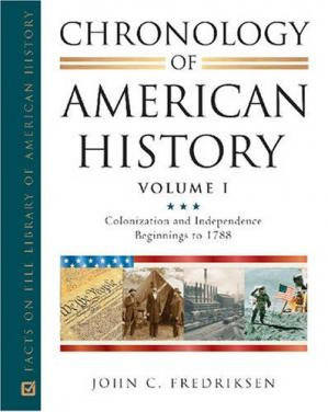 Portada del libro Chronology of American History, 4-Volume Set (Facts on File Library of American History)