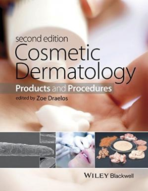 Couverture du livre Cosmetic dermatology : products and procedures