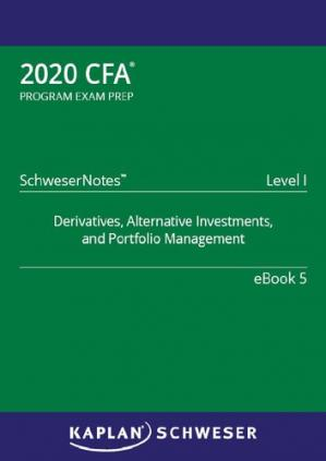 书籍封面 CFA 2020 - Level 1 SchweserNotes Book 5