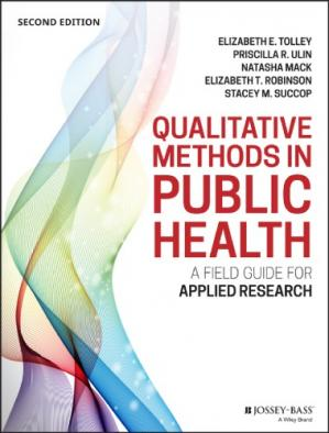 Book cover Qualitative Methods In Public Health. A field guide for applied research