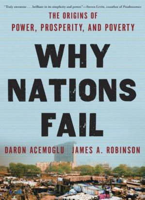 Book cover Why Nations Fail
