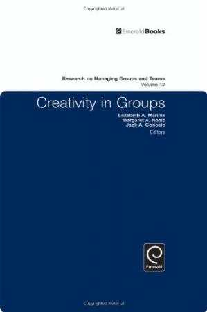A capa do livro Research on Managing Groups and Teams: Creativity in Groups (Research on Managing Groups & Teams)