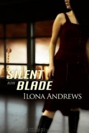 Book cover Silent Blade