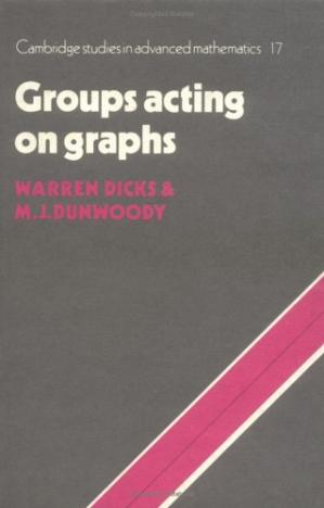 Book cover Groups acting on graphs