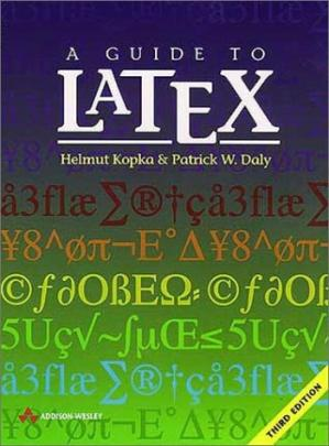 पुस्तक कवर A guide to LATEX: document preparation for beginners and advanced users