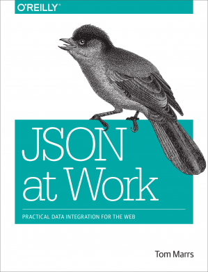Book cover JSON at Work
