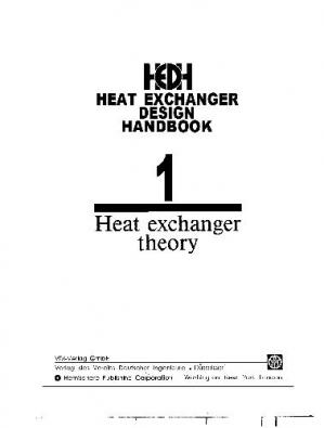 Book cover heat exchanger design handbook