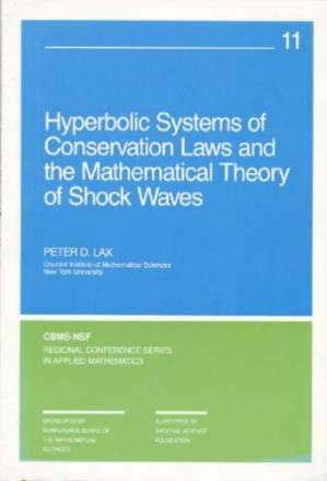 Обложка книги Hyperbolic Systems of Conservation Laws and the Mathematical Theory of Shock Waves
