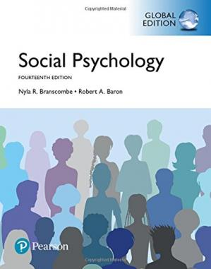Book cover Social Psychology, Global Edition