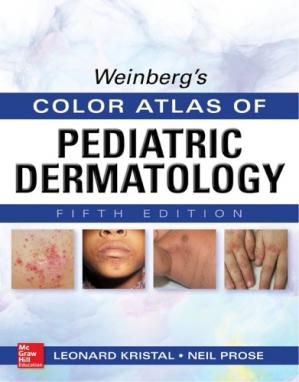 Book cover Weinberg's Color Atlas of Pediatric Dermatology