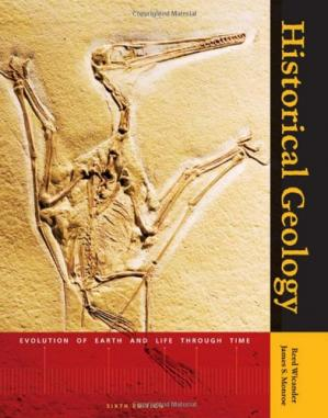 Book cover Historical geology: evolution of earth and life through time