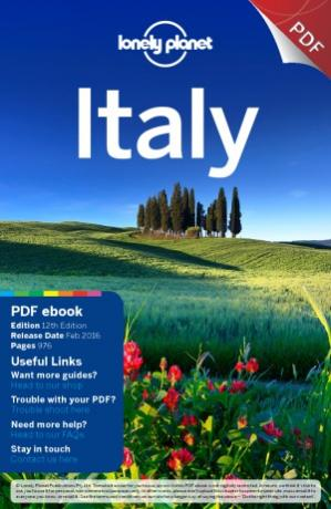 Portada del libro Lonely Planet Italy (Travel Guide)