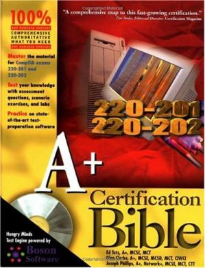 Գրքի կազմ A+ certification bible