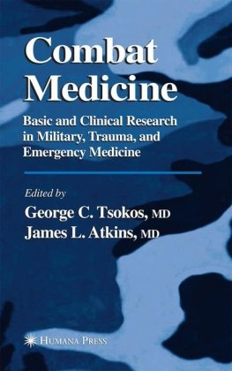 Book cover Combat medicine: basic and clinical research in military, trauma, and emergency medicine