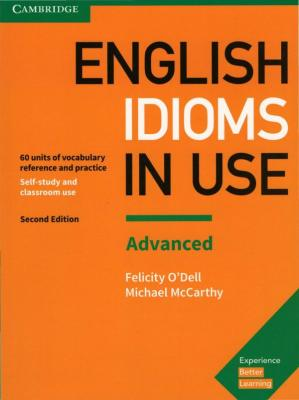Couverture du livre English Idioms in Use: Advanced