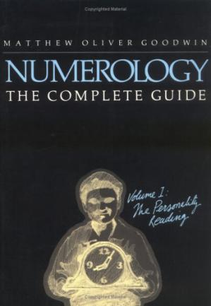 Book cover Numerology the Complete Guide, Volume 1: The Personality Reading