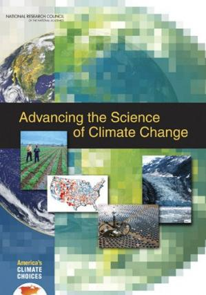 Copertina Advancing the Science of Climate Change (National Research Council)