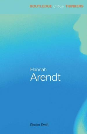 Copertina Hannah Arendt (Routledge Critical Thinkers)