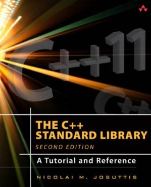 Book cover The C++ Standard Library: A Tutorial and Reference