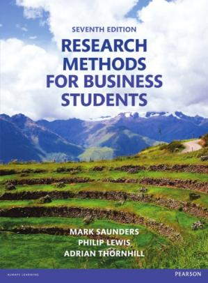 Book cover Research Methods for Business Students