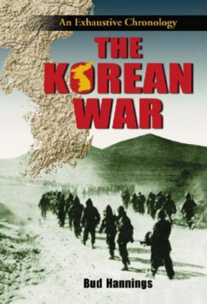 Book cover The Korean War: An Exhaustive Chronology (3 Vol. Set)