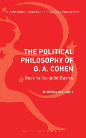 غلاف الكتاب The Political Philosophy Of G. A. Cohen: Back To Socialist Basics